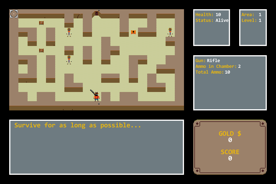 Seven Day Roguelike Screenshot - March 15 2014