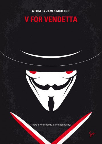 V for Vendetta minimal poster