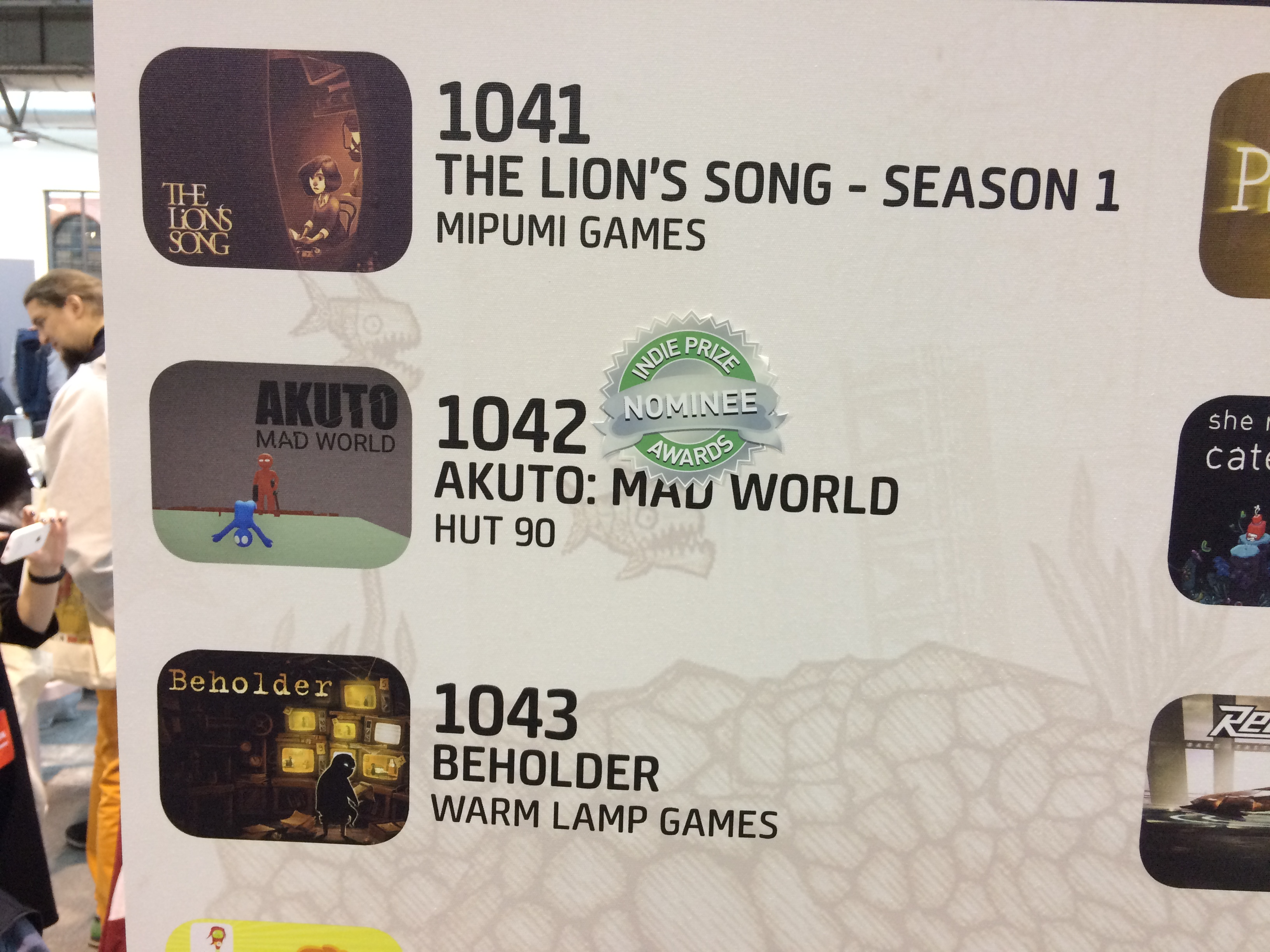 Akuto: Mad World Casual Connect Best Multiplayer Game Nomination